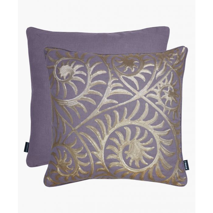 Image for Helix purple cushion 43cm
