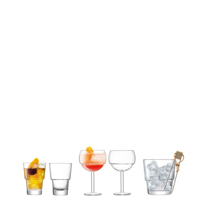 Image for 6pc Mixologist drinks serving set