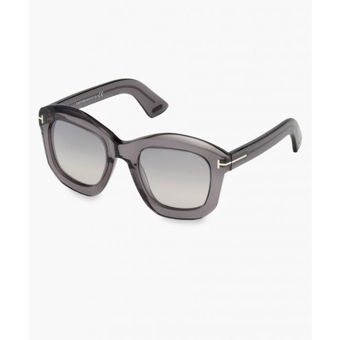 Image for Julia grey transparent sunglasses