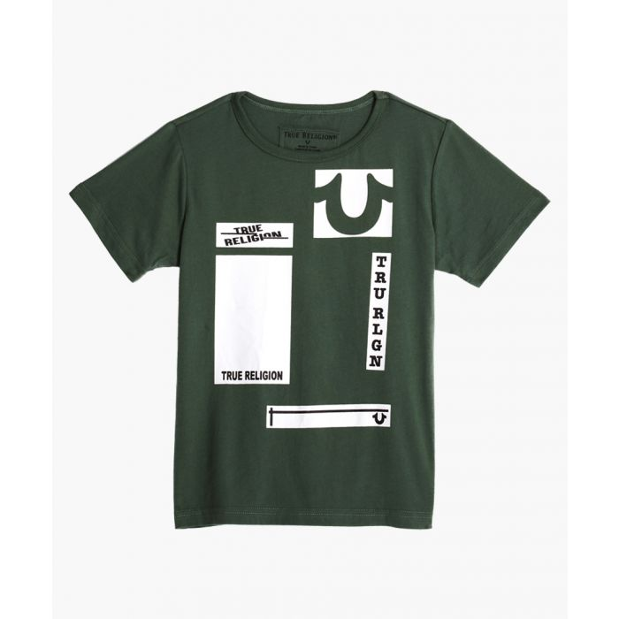 Image for Boys Olive green cotton T-shirt