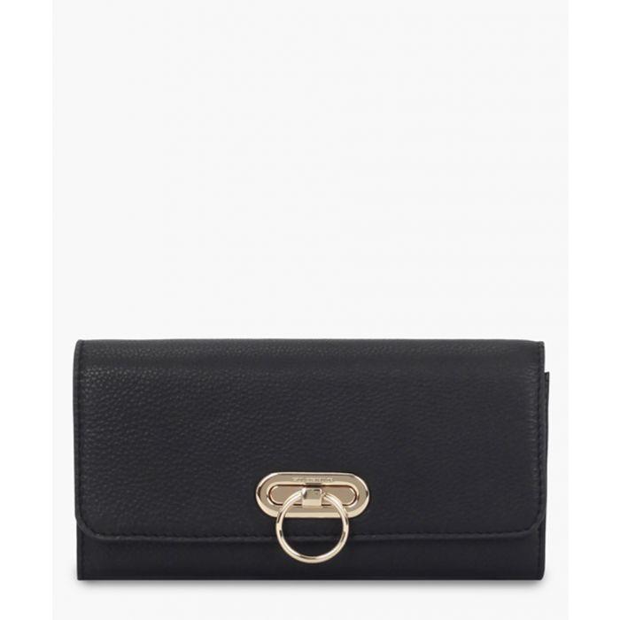 Image for Jana black leather purse