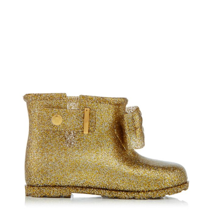 Image for Girl's Sugar Rain gold-tone boots