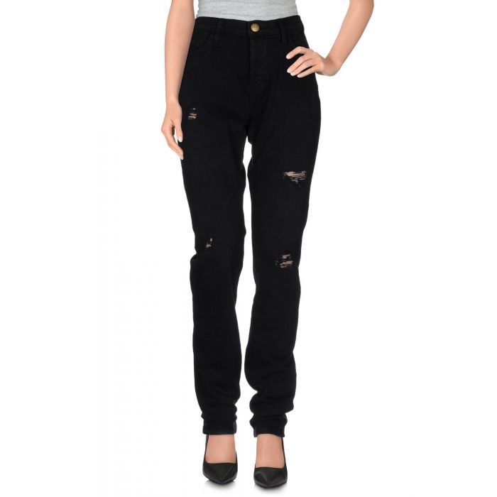 Image for Current/Elliott Black Cotton Pantaloni jeans