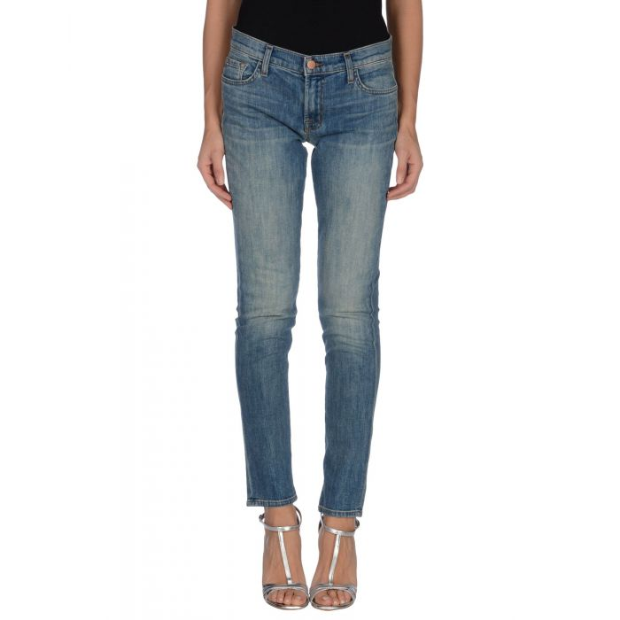 Image for J Brand Blue Cotton Pantaloni jeans