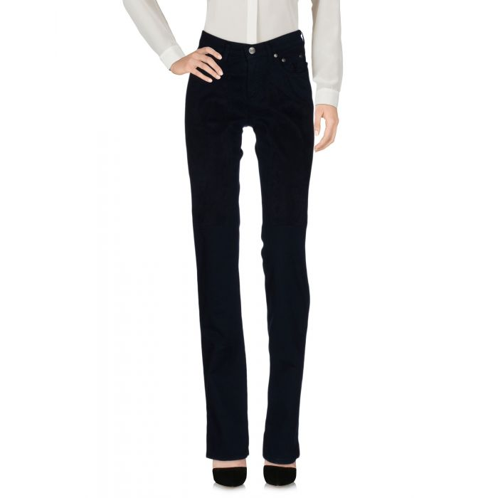 Image for Blue cotton logo trousers