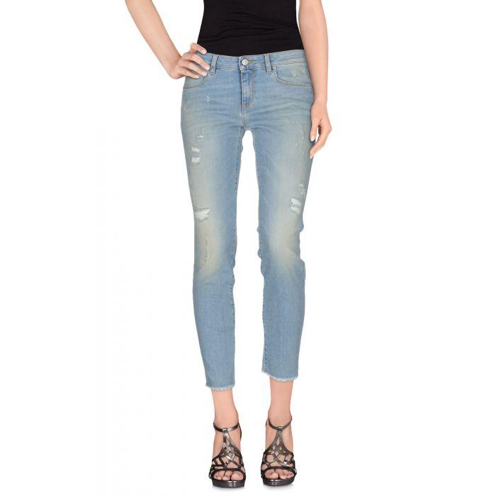 Image for Mauro Grifoni Blue Cotton Pantaloni jeans