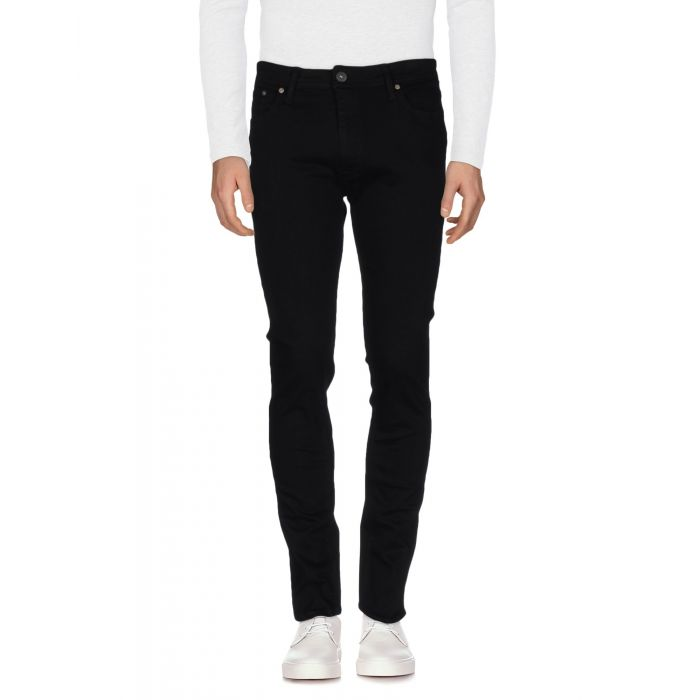 Image for Jack & Jones Black Cotton Pantaloni jeans