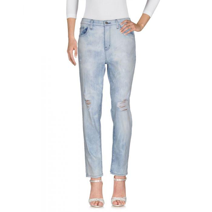 Image for Current/Elliott Blue Cotton Pantaloni jeans