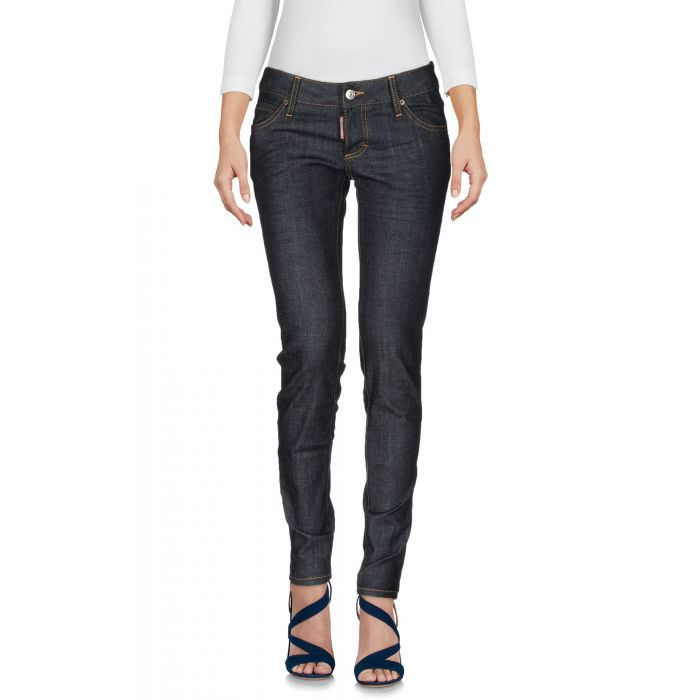 Image for Blue low-rise stretch jeans