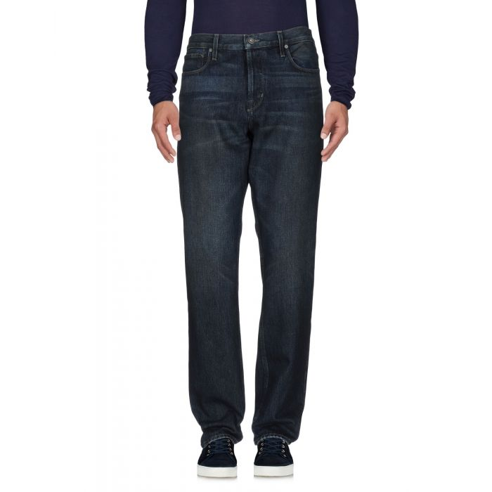 Image for Blue cotton trousers