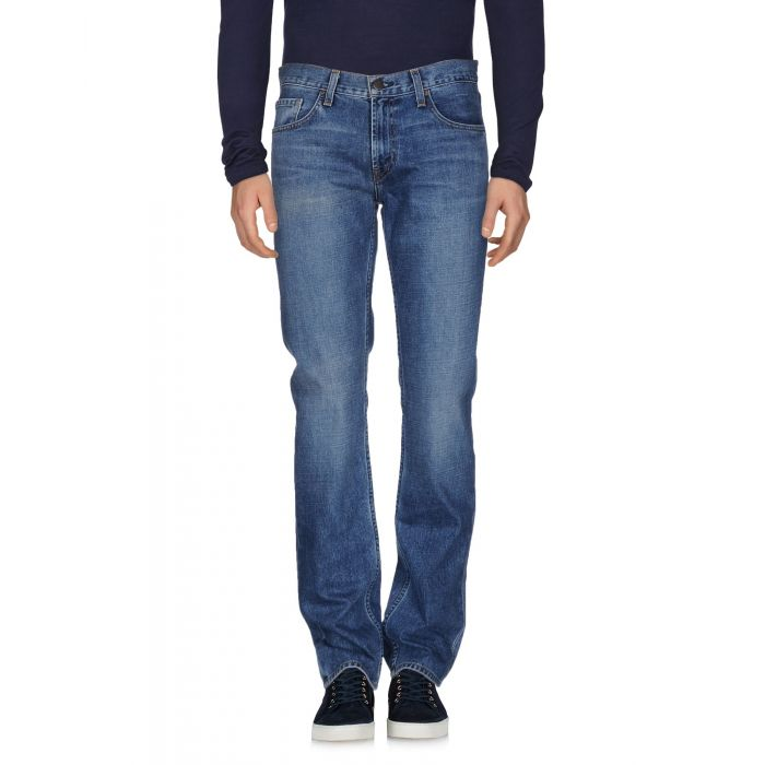 Image for Blue mid-rise denim jeans