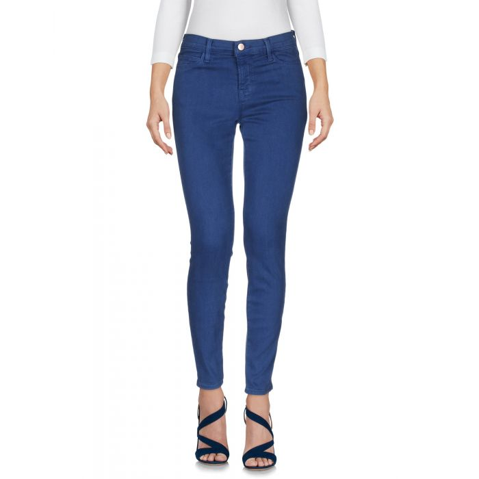 Image for Pastel blue lyocell denim trousers