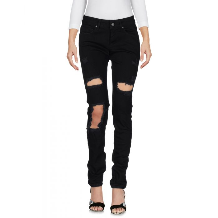Image for Shop ★ Art Woman Black Denim trousers