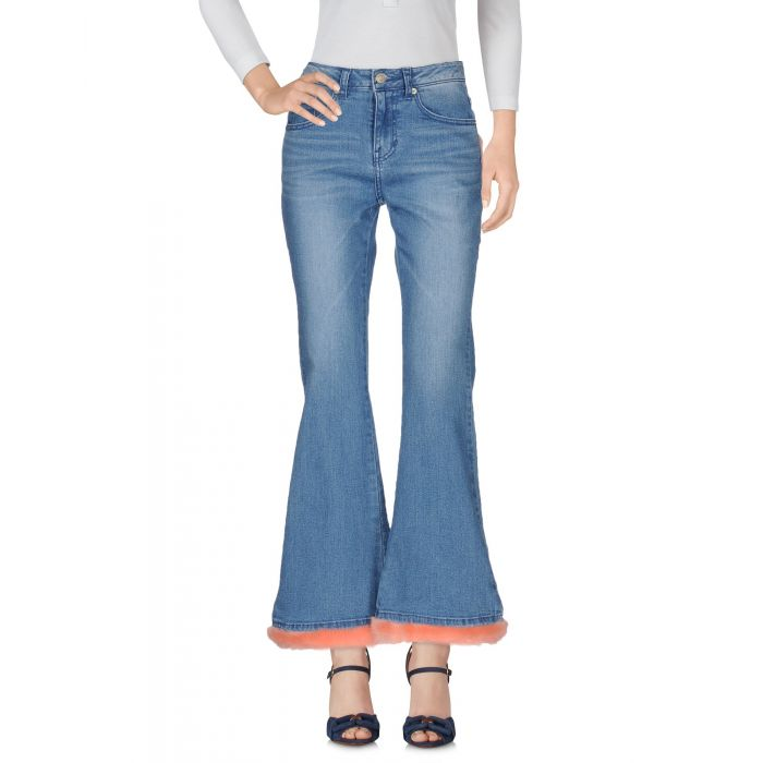 Image for Sjyp Woman Blue Denim trousers