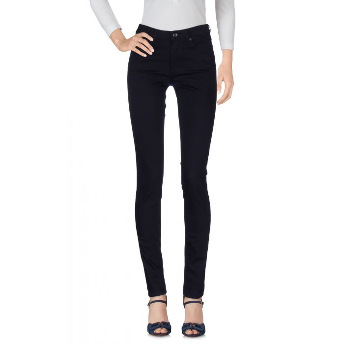 Image for Blue mid-rise stretch jeans