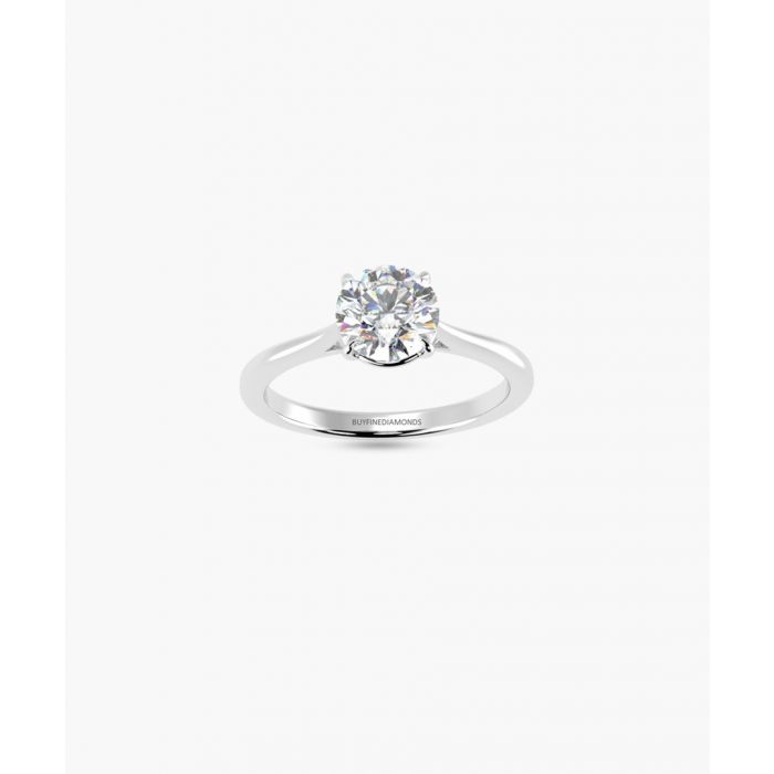 Image for 1.00ct round diamond solitaire ring