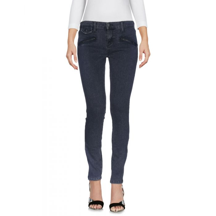 Image for Lead cotton denim trousers