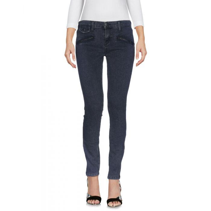 Image for Lead cotton denim trousers
