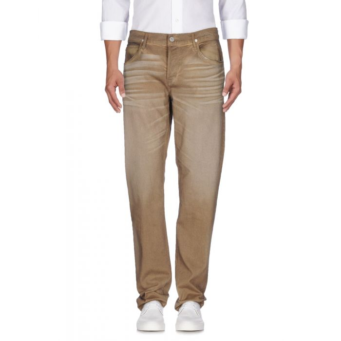 Image for Military green cotton denim trousers