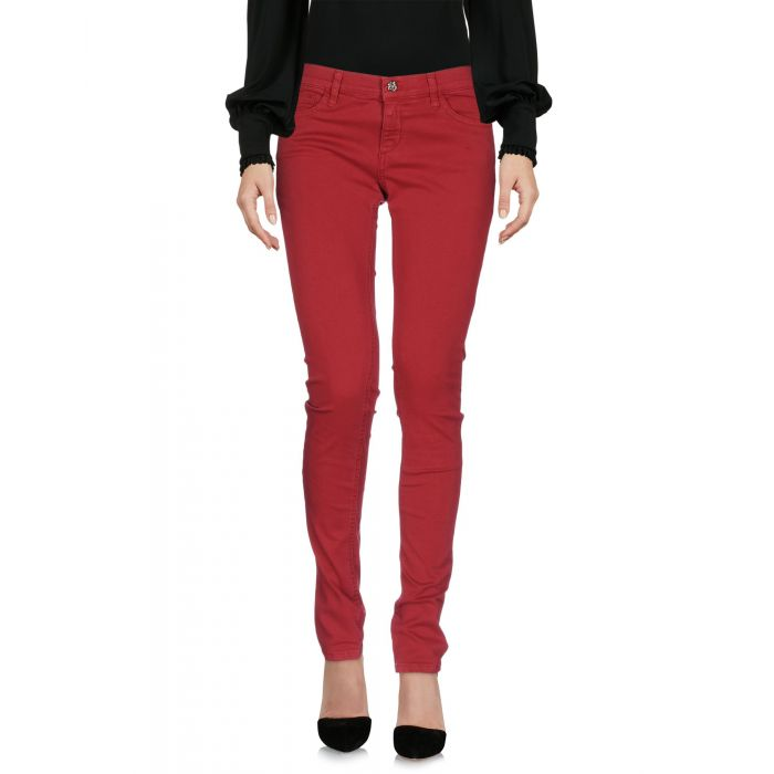 Image for Rue•8Isquit Woman Brick red Casual trousers