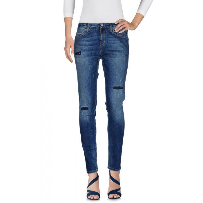 Image for Blue denim distressed jeans
