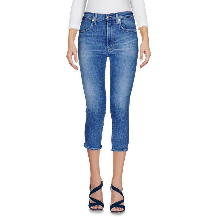 Image for Blue denim capris