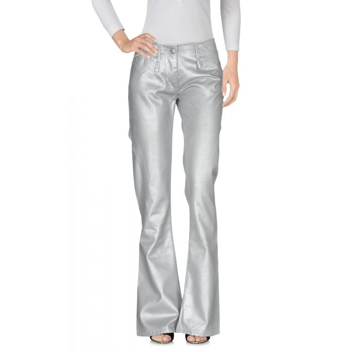 Image for Andrew Mackenzie Woman Silver Denim trousers
