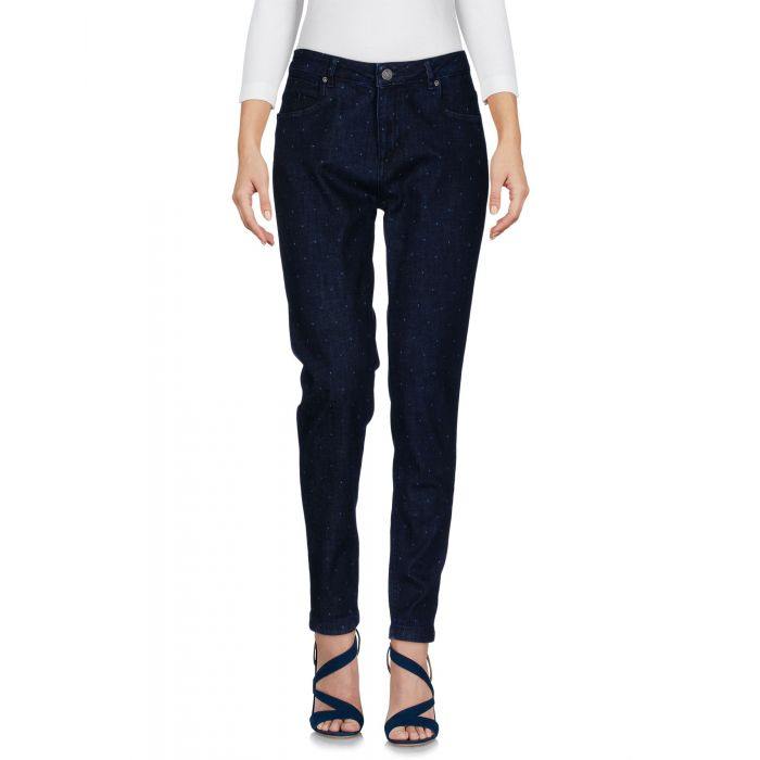 Image for Blue cotton denim trousers