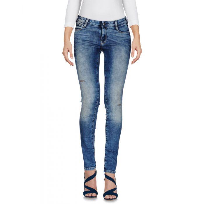 Image for Met Woman Blue Denim trousers