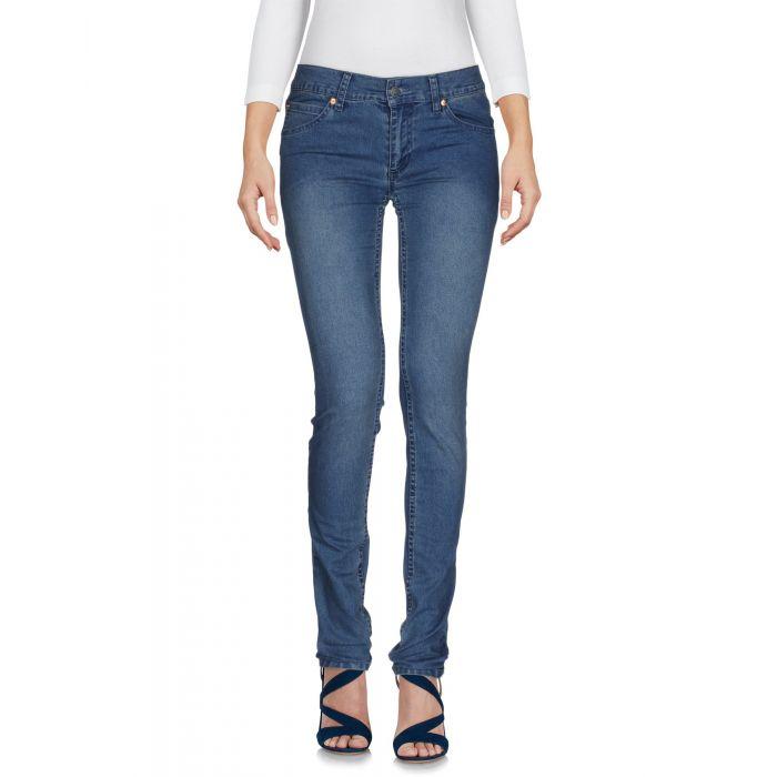 Image for Blue cotton denim jeans