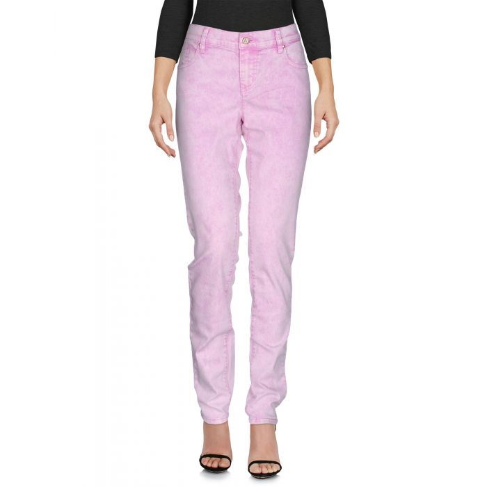 Image for Light purple cotton denim trousers