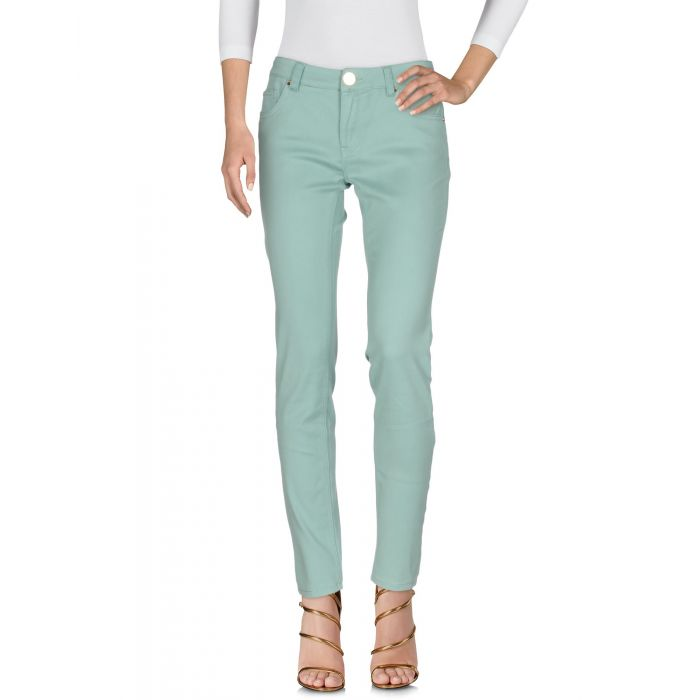 Image for Atelier Fixdesign Woman Light green Denim trousers