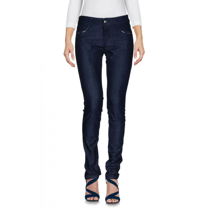 Image for Emporio Armani Woman Blue Denim trousers