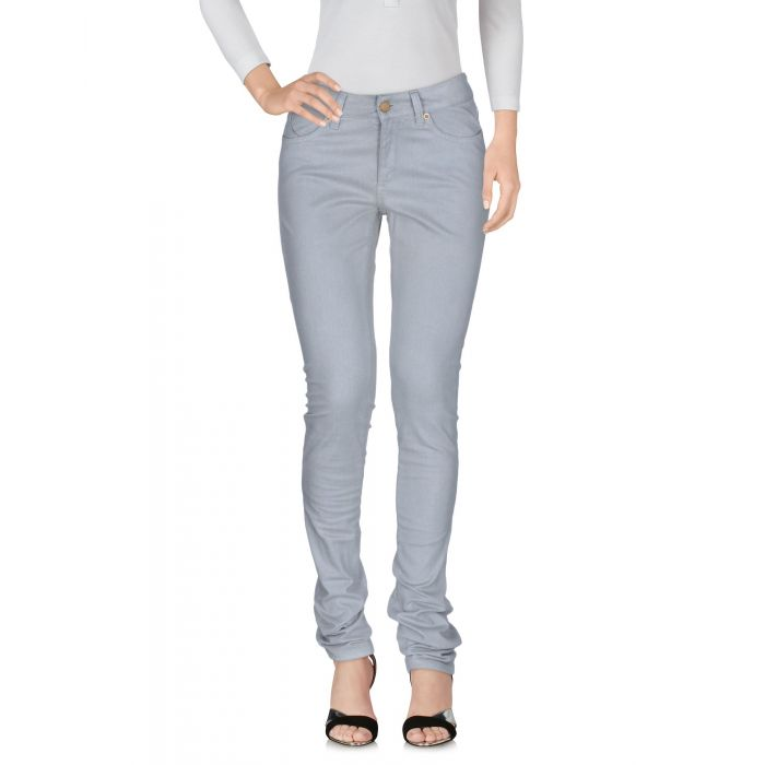 Image for Grey mid-rise trousers
