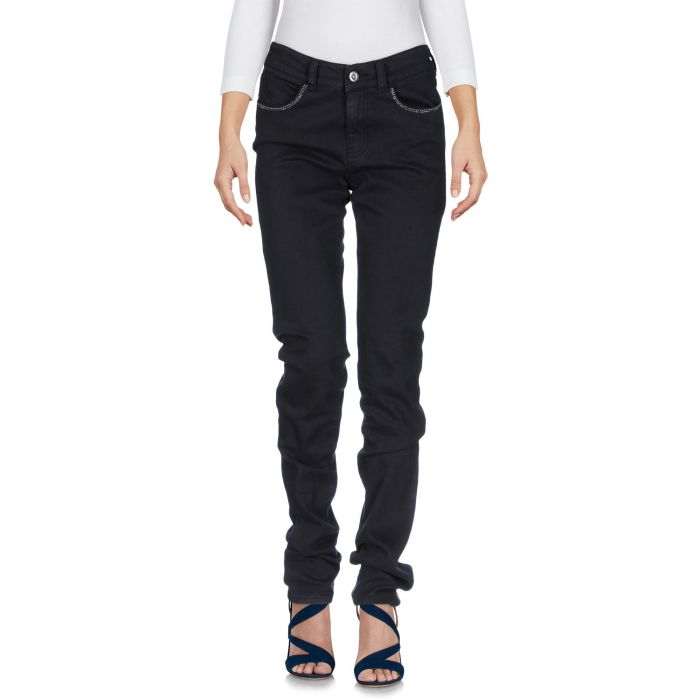 Image for Blue mid-rise slim jeans