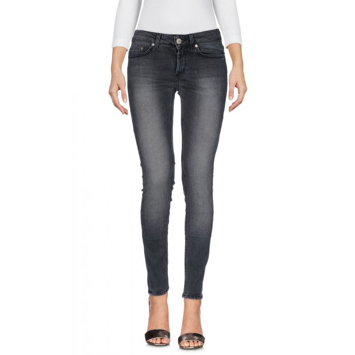 Image for Dondup Woman Grey Denim trousers