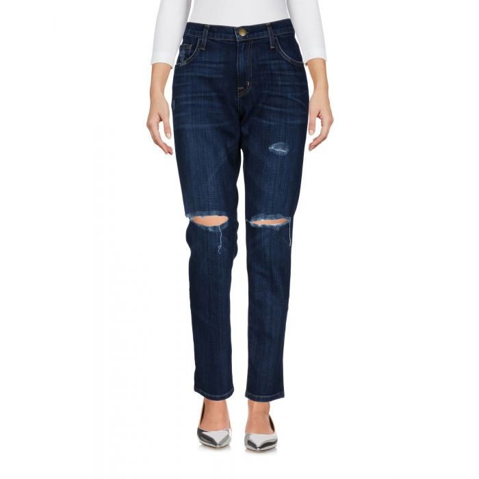 Image for Current/Elliott Blue Cotton Pantaloni jeans