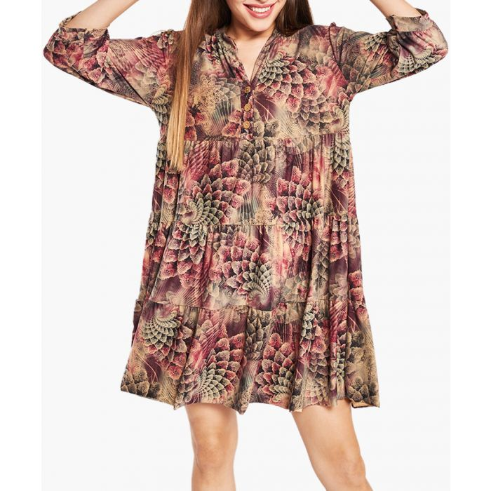 Image for Tiag Beige Dress
