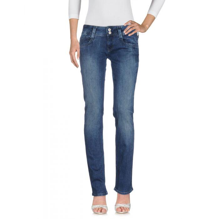 Image for Blue cotton denim trousers