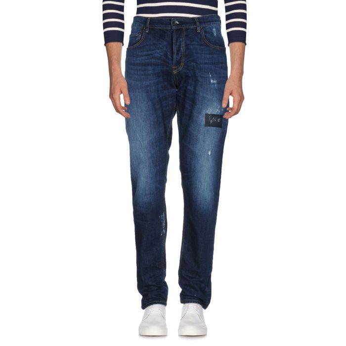 Image for The.Nim Blue Cotton Pantaloni jeans