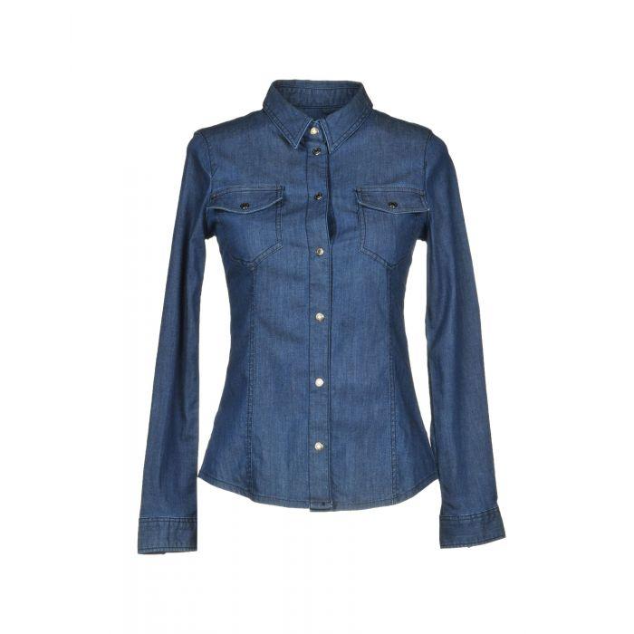 Image for Armani Jeans Blue Cotton Camicie jeans