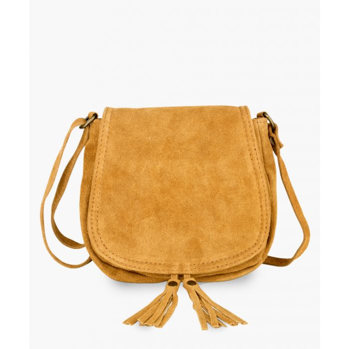 Image for Light Tan leather shoulder bag
