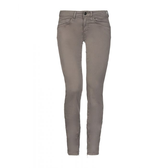 Image for Dove grey cotton trousers