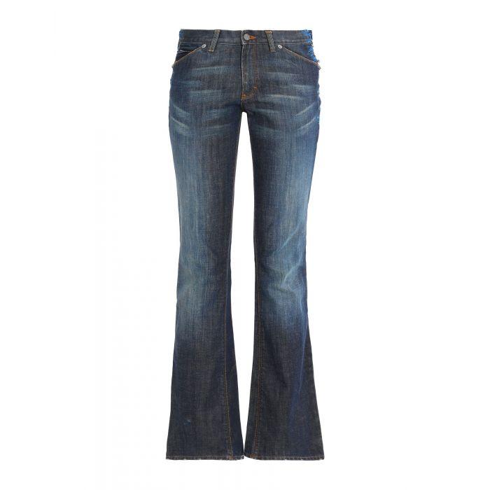 Image for Calvin Klein Jeans Blue Cotton Pantaloni jeans
