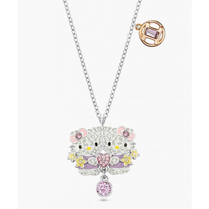 Image for Hello Kitty Gemini cubic zirconia necklace