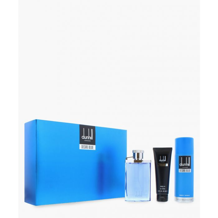 Image for 3pc Desire blue eau de toilette 100ml and body spray 195ml and shower gel set