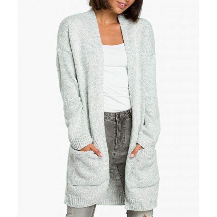 Image for Grey melange cardigan