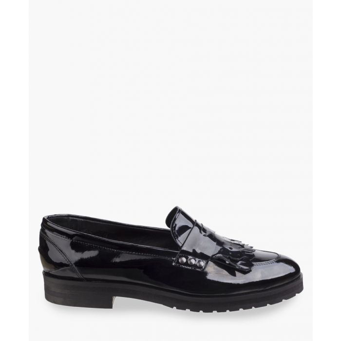 Image for Black patent loafers