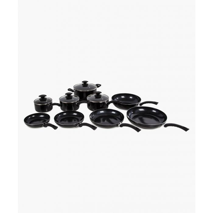 Image for Black ceramic frying pan 28cm