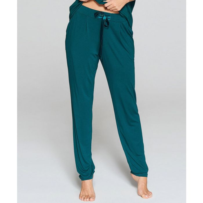 Image for Teal relaxed leggings